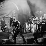 PHILADELPHIA - JUNE 29: Anthrax performs at The Spectrum on June 29, 1991 in Philadelphia, Pennsylvania. ©Lisa Lake