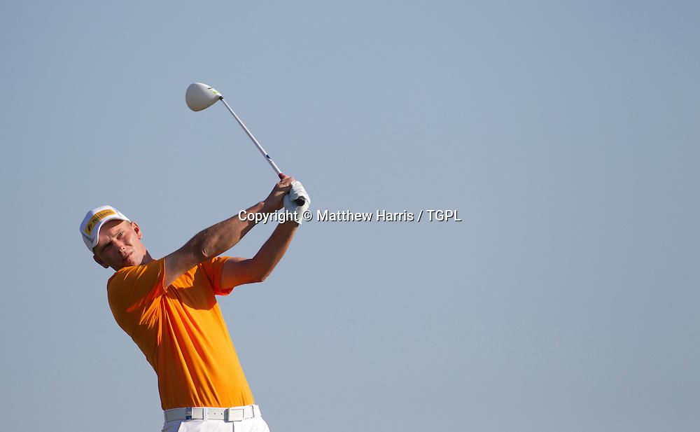 Marcel SIEM (GER) during fourth round,Abu Dhabi HSBC Championship 2013,Abu Dhabi Golf Club,Abu Dhabi,20th January 2013.