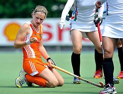 06-06-2011 HOCKEY: NEDERLAND - AZERBEIDZJAN: UTRECHT<br /> Lieke Hulsen<br /> ©2011-FotoHoogendoorn.nl