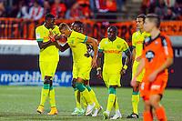 Joie Yacine BAMMOU / groupe nantes - 20.12.2014 - Lorient / Nantes - 19eme journee de Ligue 1 -<br /> Photo : Vincent Michel / Icon Sport