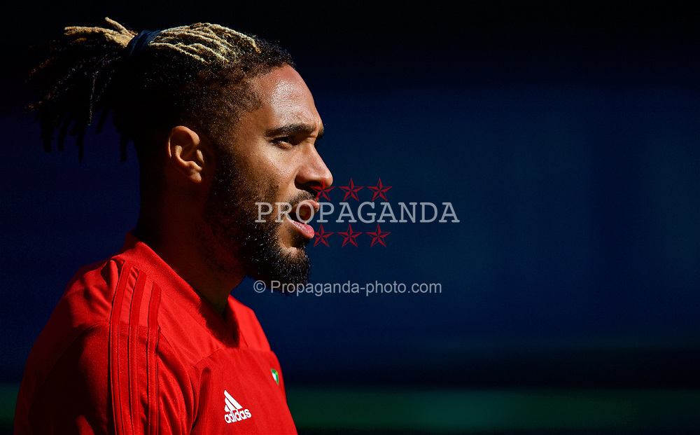 CARDIFF, WALES - Wednesday, September 5, 2018: Wales' captain Ashley Williams during a training session at the Cardiff City Stadium ahead of the UEFA Nations League Group Stage League B Group 4 match between Wales and Republic of Ireland. (Pic by David Rawcliffe/Propaganda)