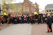 Koninginnedag 2010 . De Koninklijke familie in het zeeuwse  Middelburg. / Queensday 2010. De Royal Family in Middelburg.<br /> <br /> op de foto / on the photo Beveiliging / Security