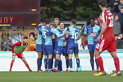 March 9, 2019 - High Wycombe, Buckinghamshire, United Kingdom - Wycombe celebtrate the opening goal during the Sky Bet League 1 match between Wycombe Wanderers and Sunderland at Adams Park, High Wycombe, England  on Saturday 9th March 2019. (Credit Image: © Mi News/NurPhoto via ZUMA Press)