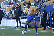 Malvind Benning of Mansfield Town (3) during the The FA Cup match between Mansfield Town and Charlton Athletic at the One Call Stadium, Mansfield, England on 11 November 2018.
