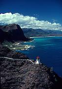 Makapu'u Lighthouse, Oahu, Hawaii<br />