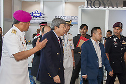 April 17, 2018 - Kuala Lumpur, Malaysia - The 16th Defense Service Asia Exhibition and Conference also known as DSA 2018 was held in Kuala Lumpur, Malaysia on 16th-19th April 2018. It's one of the top 5 defense shows in the world. Admission is open to government defense & security personnel, defense & security industry professionals & executives and other specially invited guests only.  1,500 companies from 60 nations and more than 50,000 trade visitors from around the world participated in the exhibition. Defense Service Asia has successfully run for almost 3 decades since 1988. (Credit Image: © Faris Hadziq/SOPA Images via ZUMA Wire)
