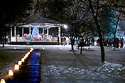 Dunellen 2013 Christmas tree lighting ceremony