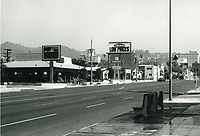 1972 Looking north on Highland Ave. towards Fountain Ave.