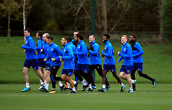 Everton players during the training session at Finch Farm, Liverpool. PRESS ASSOCIATION Photo. Picture date: Wednesday November 22, 2017. See PA story SOCCER Everton. Photo credit should read: Peter Byrne/PA Wireduring the training session at Finch Farm, Liverpool. PRESS ASSOCIATION Photo. Picture date: Wednesday November 22, 2017. See PA story SOCCER Everton. Photo credit should read: Peter Byrne/PA Wire