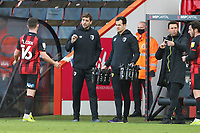 Football - 2020 / 2021 Sky Bet Championship - AFC Bournemouth vs. Birmingham City - The Vitality Stadium<br /> <br /> Bournemouth's Interim Manager Jonathan Woodgate  gives some instructions to Bournemouth's Lewis Cook during the Championship match at the Vitality Stadium (Dean Court) Bournemouth <br /> <br /> COLORSPORT/SHAUN BOGGUST