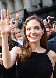 Angelina Jolie arrives for the World War Z UK film premiere at The Empire, Leicester Square, London, United Kingdom, <br /> Sunday, 2nd June 2013<br /> Picture by Max Nash / i-Images