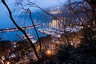 Trieste, baia di Grignano.