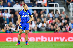 Giulio Bisegni of Italy<br /> <br /> Photographer Craig Thomas/Replay Images<br /> <br /> Quilter International - England v Italy - Friday 6th September 2019 - St James' Park - Newcastle<br /> <br /> World Copyright © Replay Images . All rights reserved. info@replayimages.co.uk - http://replayimages.co.uk
