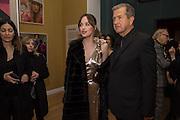 DAKOTA JOHNSON; MARIO TESTINO Vogue100 A Century of Style. Hosted by Alexandra Shulman and Leon Max. National Portrait Gallery. London. WC2. 9 February 2016.