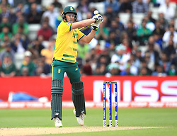 South Africa's David Miller during the ICC Champions Trophy, Group B match at Edgbaston, Birmingham. PRESS ASSOCIATION Photo. Picture date: Wednesday June 7, 2017. See PA story CRICKET Pakistan. Photo credit should read: Mike Egerton/PA Wire. RESTRICTIONS: Editorial use only. No commercial use without prior written consent of the ECB. Still image use only. No moving images to emulate broadcast. No removing or obscuring of sponsor logos.