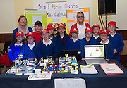 Scoil Annin's Naofa Ros Cathail at the annual Junior FIRST Lego League run by Galway Education Centre, in the Radisson blu Hotel.  Photo:Andrew Downes<br />  Photo:Andrew Downes, XPOSURE