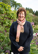 Helena Gerrish owner of High Glanau Manor Gardens, Lydart, Monmouth, Gwent, UK