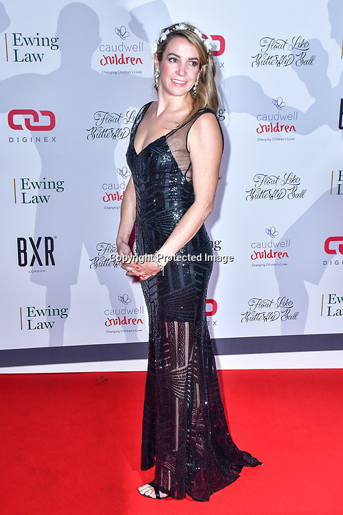Luxembourg princess Tessy Antony arrive at Float Like A Butterfly Ball for Caudwell Children Charity at Grosvenor House Hotel on 16 November 2019, London, UK.
