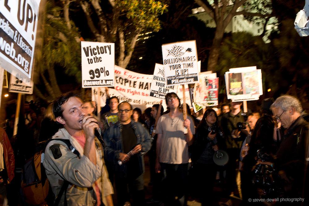 Occupy LA City Hall encampment
