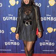 NLD/Amsterdams/20190326 - Filmpremiere Dumbo, Glennis Grace