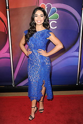 March 8, 2018 - New York, NY, USA - March 8, 2018  New York City..Auli'i Cravalho attending arrivals for the 2018 NBC NY Midseason Press Junket at Four Seasons Hotel on March 8, 2018 in New York City. (Credit Image: © Kristin Callahan/Ace Pictures via ZUMA Press)