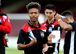 Bobby Reid of Bristol City arrives at Glanford Park for the EFL Cup fixture with Scunthorpe United - Mandatory by-line: Robbie Stephenson/JMP - 23/08/2016 - FOOTBALL - Glanford Park - Scunthorpe, England - Scunthorpe United v Bristol City - EFL Cup second round
