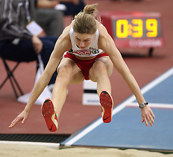 Long jump athlete Joanna Skibinska of Poland in the Qualification at the 1st day of  European Athletics Indoor Championships Torino 2009 (6th - 8th March), at Oval Lingotto Stadium,  Torino, Italy, on March 6, 2009. (Photo by Vid Ponikvar / Sportida)