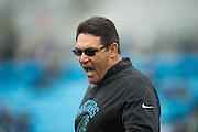 December 11, 2016: Carolina Panthers vs San Diego Chargers. Panthers Head Coach Ron Rivera