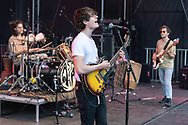 British indie-rock band Cassia at the Open Ohr Festival