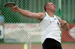 Igor Primc  at Athletic National Championship of Slovenia, on July 20, 2008, in Stadium Poljane, Maribor, Slovenia. (Photo by Vid Ponikvar / Sportal Images).