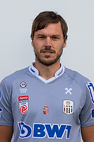 Download von www.picturedesk.com am 16.08.2019 (13:58). <br /> PASCHING, AUSTRIA - JULY 16: Thomas Gebauer of LASK during the team photo shooting - LASK at TGW Arena on July 16, 2019 in Pasching, Austria.190716_SEPA_19_044 - 20190716_PD12443