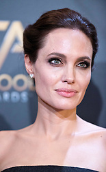 Angelina Jolie poses in the press room during the 18th Annual Hollywood Film Awards at The Palladium in Los Angeles, CA, USA on November 14, 2014. Photo by Lionel Hahn/ABACAPRESS.COM