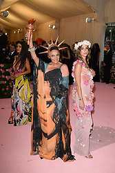 Diane Von Furstenberg and Talita Von Furstenberg attend The 2019 Met Gala Celebrating Camp: Notes on Fashion at Metropolitan Museum of Art on May 06, 2019 in New York City.<br /> Photo by ABACAPRESS.COM