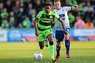 Forest Green Rovers v Tranmere Rovers 130519