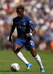 Chelsea's Callum Hudson-Odoi in action