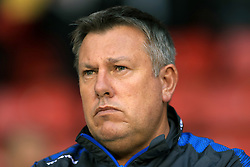 Leicester City manager Craig Shakespeare before the Carabao Cup, Second Round match at Bramall Lane, Sheffield.