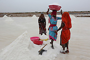 Collecting salt from the salt flats in the Rajasthan desert. Part of Barefoot's success is the desalinisation and treatment of water sources for freshwater drinking facilities..Barefoot College Tilonia, started by Bunker Roy in the 1970s. An organisation based upon creating economic self-empowerment and sustainable development initiatives, and self-sufficiency, for communities in the rural desert of Rajasthan, India. Energy autonomy with solar power capacitors, parabolic mirrors for cooking, solar powered water heating, and battery lanterns. Freshwater and irrigation through wells and desalination. A multitude of other economic initiatives run by grassroots Indian people, mainly women, where those who participate in, run the projects themselves. Many of them local lower castes, some physically handicapped, most with no paper qualifications, with support from others who gave up high flying money-making careers to be involved in working with poor rural communities. Mico-industries include solar lanterns, electric circuitry and lighting, crafts, textiles, children's toys, and sanitary towels. Also much emphasis on local and oral communications, radio, and puppetry. Now recognised internationally providing an educational resource most often directed towards communities of rural women worldwide.