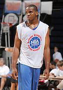 PF Samardo Samuels (Newark, NJ / St. Benedictís) played during the NBA Top 100 Camp held Thursday June 21, 2007 at the John Paul Jones arena in Charlottesville, Va. (Photo/Andrew Shurtleff)