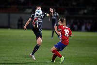 Atletico de Madrid´s Be a Beltran during UEFA Women´s Champions League soccer match between Atletico de Madrid and Olympique Lyonnais, in Madrid, Spain. November 11, 2015. (ALTERPHOTOS/Victor Blanco)