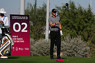 Thomas Pieters (BEL) on the 2nd during the Pro-Am of the Commercial Bank Qatar Masters 2020 at the Education City Golf Club, Doha, Qatar . 04/03/2020<br /> Picture: Golffile   Thos Caffrey<br /> <br /> <br /> All photo usage must carry mandatory copyright credit (© Golffile   Thos Caffrey)