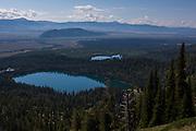 Bradley Lake and Taggart Lake, Grand Teton National Park, Wyoming