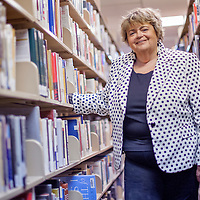 042414       Cable Hoover<br /> <br /> Mary Ellen Pellington took over as librarian of the Octavia Fellin Public Library six years ago. The library was recently awarded a National Medal for exceptional community service from the Institute of Museums and Libraries.