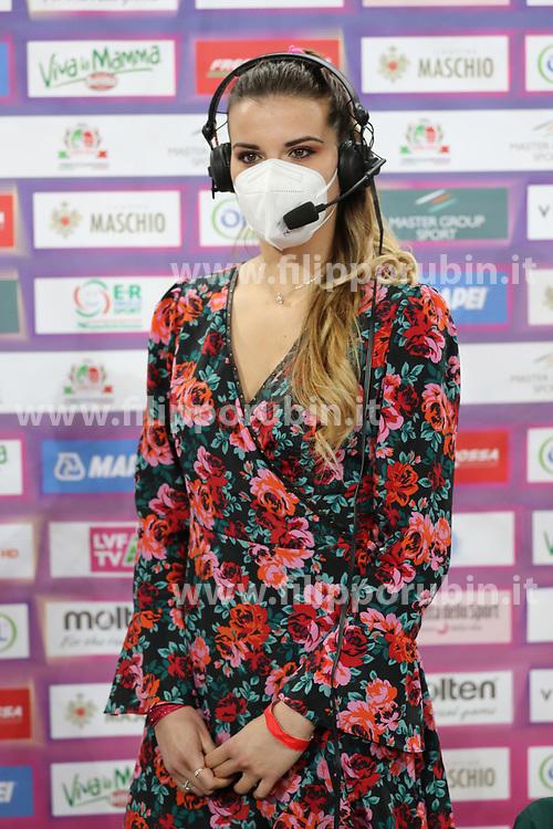 GIULIA PISANI<br /> FINAL FOUR COPPA ITALIA PALLAVOLO FEMMINILE<br /> RIMINI 14-03-2021<br /> FOTO FILIPPO RUBIN / LVF