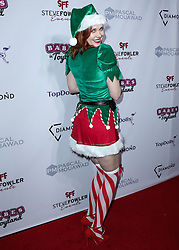 HOLLYWOOD, LOS ANGELES, CA, USA - NOVEMBER 28: Actress Maitland Ward arrives at the 11th Annual Babes In Toyland - Charity Toy Drive held at Avalon Hollywood on November 28, 2018 in Hollywood, Los Angeles, California, United States. 28 Nov 2018 Pictured: Maitland Ward. Photo credit: Xavier Collin/Image Press Agency/MEGA TheMegaAgency.com +1 888 505 6342