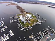 Essex Island Marina from 350'