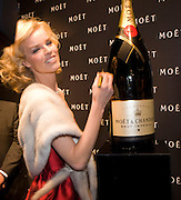 Eva Hertzigova, A Tribute to Cinema party given by Moet and Chandon.Big Sky Studios, Brewery Rd. London.  24 March 2009