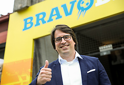 Luka Brezovec, president of Bravo after the football match between NK Domzale and NK Aluminij in 36th Round of Prva liga Telekom Slovenije 2020/21, on May 22, 2021 in Sportni park Domzale, Slovenia. Photo by Vid Ponikvar / Sportida