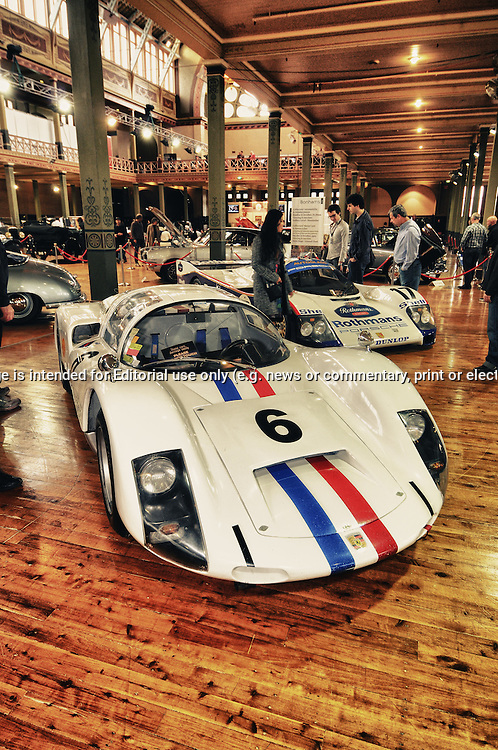 1966 Porsche 906.RACV Motorclassica.The Australian International Concours d'Elegance & Classic Motor Show.Royal Exhibition Building .Carlton, Melbourne, Victoria.October 22nd 2011.(C) Joel Strickland Photographics.Use information: This image is intended for Editorial use only (e.g. news or commentary, print or electronic). Any commercial or promotional use requires additional clearance.