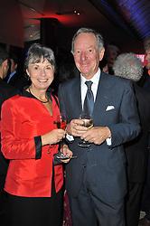 MICHAEL & CHRISTINE BUERK at the Costa Book Awards 2010 held at Quaglino's, 16 Bury Street, London on 25th January 2011.