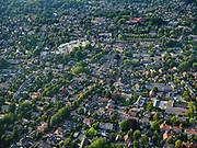 Nederland, Noord-Holland, Laren, 26-08-2019; overzichtsfoto centrum Laren, van oorsprong esdorp (of brinkdorp).<br /> Laren city centre.<br /> luchtfoto (toeslag op standard tarieven);<br /> aerial photo (additional fee required);<br /> copyright foto/photo Siebe Swart